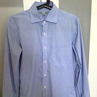 Uniqlo Basic Blue Long Sleeves