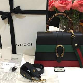 Gucci Dionysus Bamboo Leather