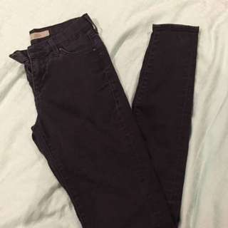 Topshop Leigh High Waisted Jeans