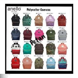 Original Anello Bags (In Stock) - Poly Canvas