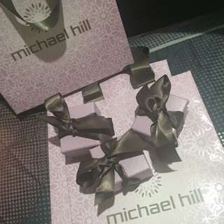 Michael Hills earings (come with box and gift bag)