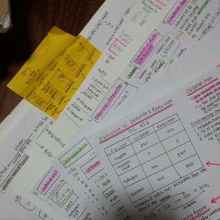 Sec 4 / O Level Chemistry Notes