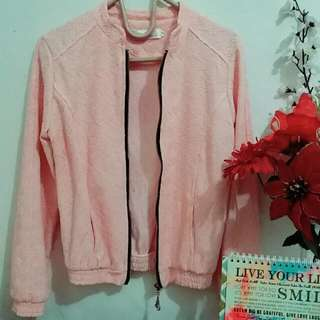 Lace Jacket - Peach (Salem)