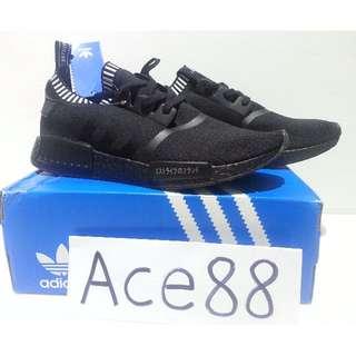 a3089bc6b3bb7 Adidas NMD R1 PK Triple Black Japan