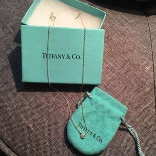 AUTHENTIC Tiffany &Co Peretti Diamond necklace