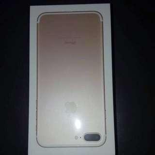 iPhone 7 Plus 128GB gold BRAND NEW
