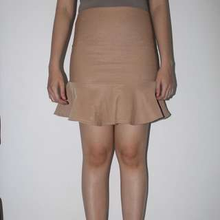 light brown mermaid skirt