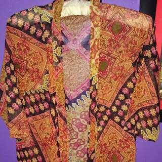 Batik Outer Merk Polkadot