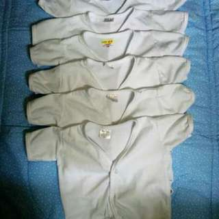 Pre-loved But Well Loved (White Baru-Baruan (buttons), Pajama, Bonnets And Mittens)