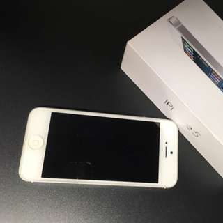 iphone 5 16g 銀