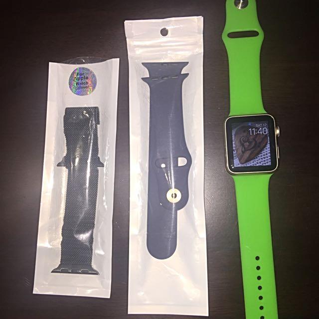 42mm Apple watch 7000 Series Aluminum ion x glass