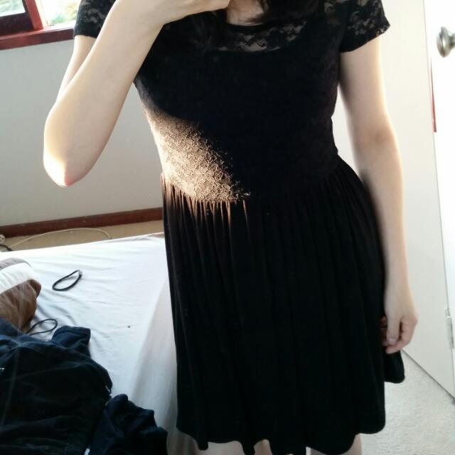 6ixty 8ight Black Lace Dress