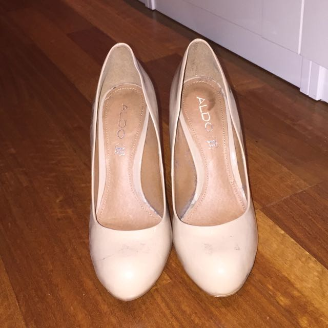 Also Nude Heels/pumps (size7)
