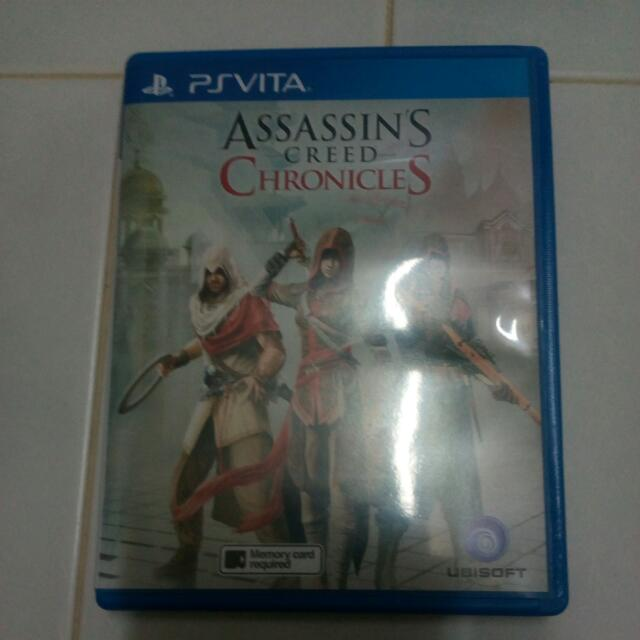 Assassin S Creed Chronicles Ps Vita Game Toys Games Video