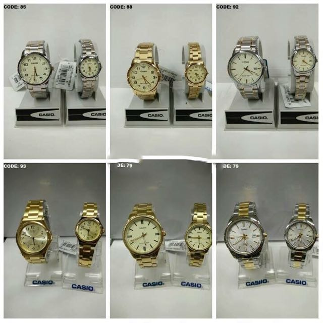 Aunthentic Couple Watches