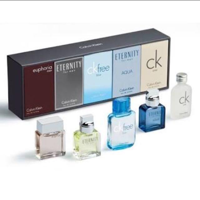 Calvin Klein Deluxe Miniature Collection