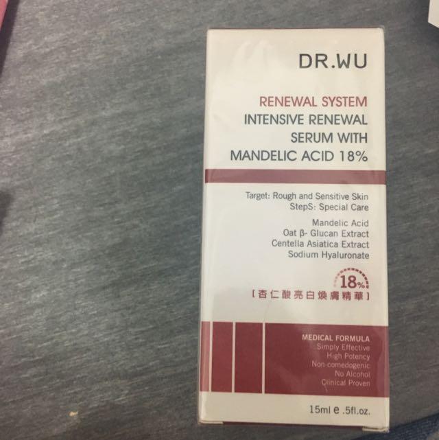 Dr.wu 18%杏仁酸