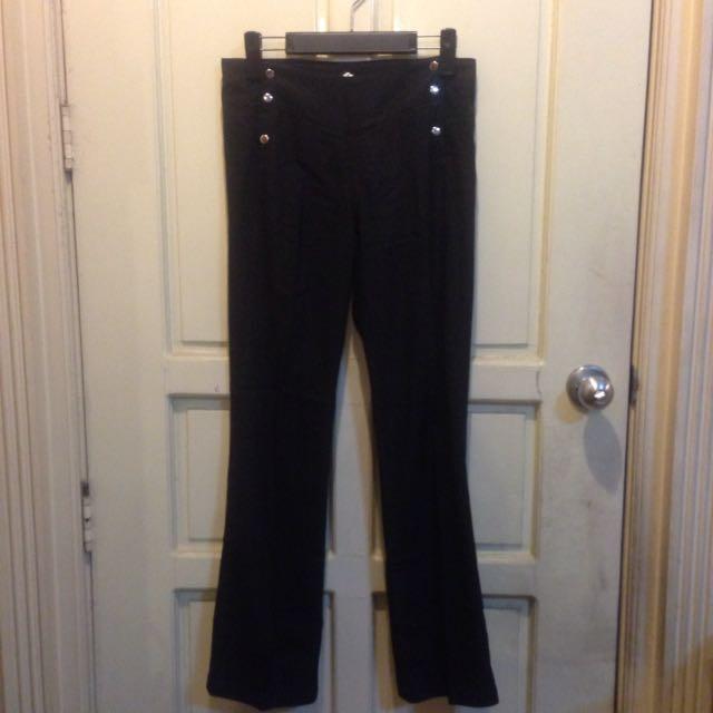 F21 Highwaist Black Pants