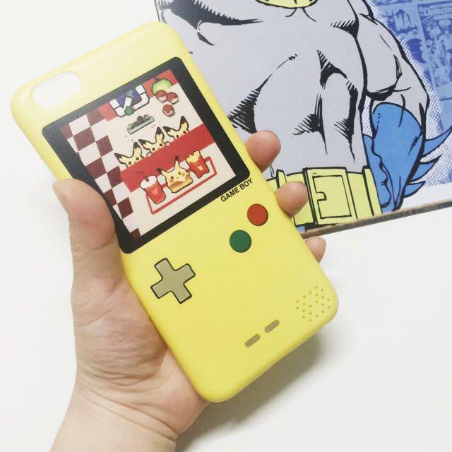 🕹限量商品🕹神奇寶貝game boy iphone6/6plus/6s軟殼 寶可夢 pokemon go 皮卡丘 電玩 手機殼