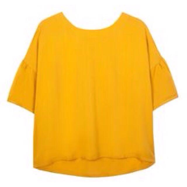 GORMAN Sunny Yellow Loose Top