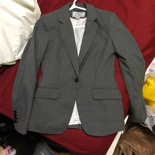 Grey Blazer H&M