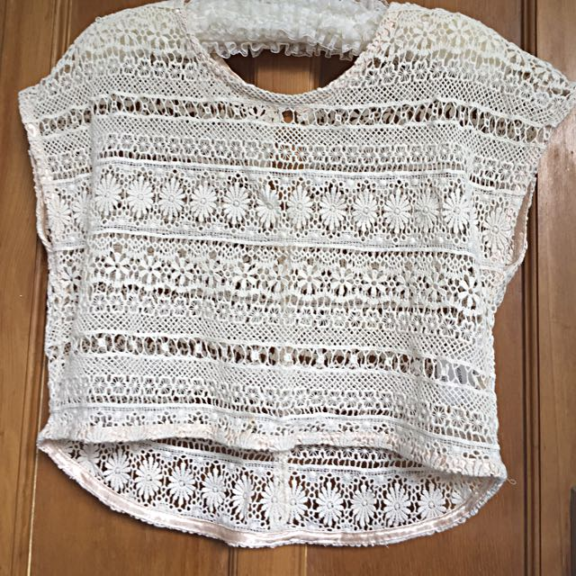 Gumboots Lace Top