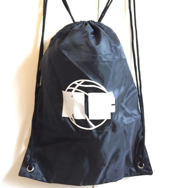 FREE SHIPPING! HF Hoops Factory Black Draw String Bag Shoe Bag