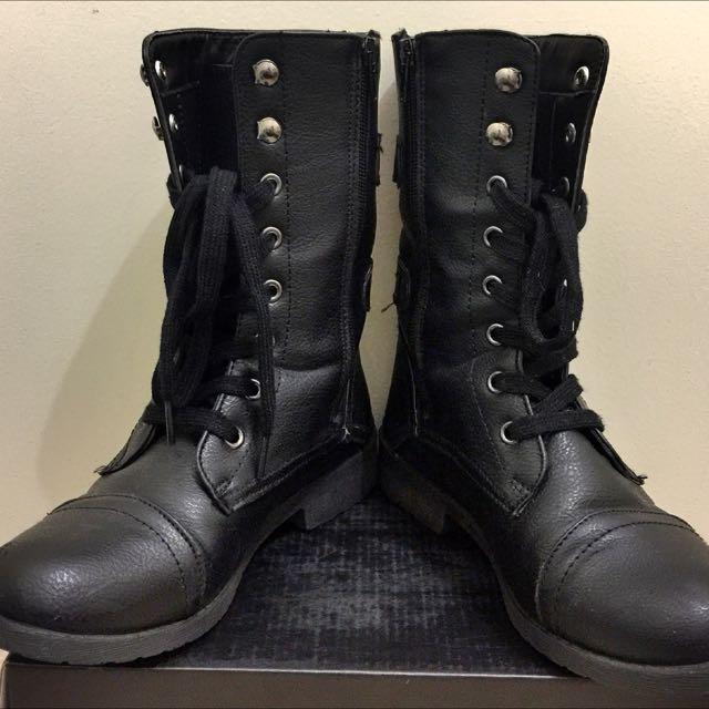 High Cut Boots