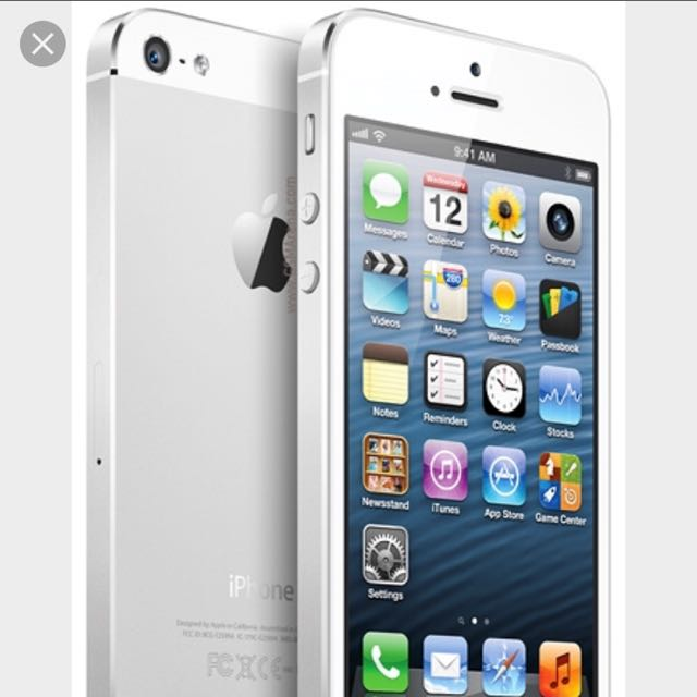 Iphone5 16g 白色