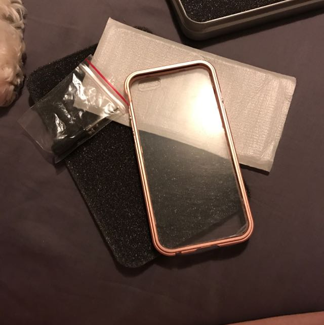 iPhone 6s Brand New Bumper (Rose gold)