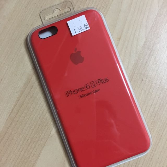 sports shoes c7ef1 38292 iPhone 6s Plus Apple Silicon Case Product (Red)
