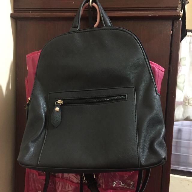 Kimbel leather backpack