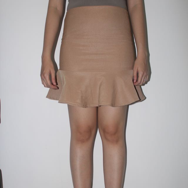 light brown mermaid skirt