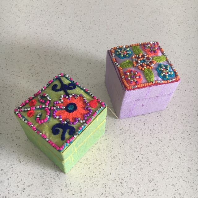 Little Jewellery Gift Boxes Beaded
