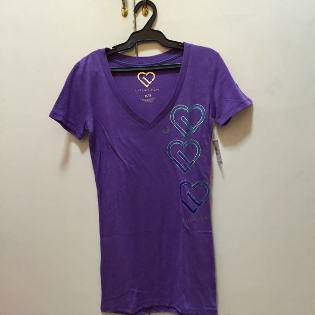 FREE SHIPPING! Aeropostale Live Love Dream Violet Uneck Shirt