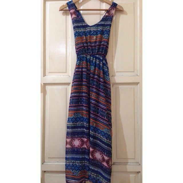 Long Chiffon sun dress