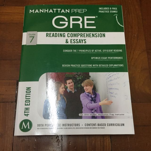 ManhattanPrep GRE - Reading Comprehension