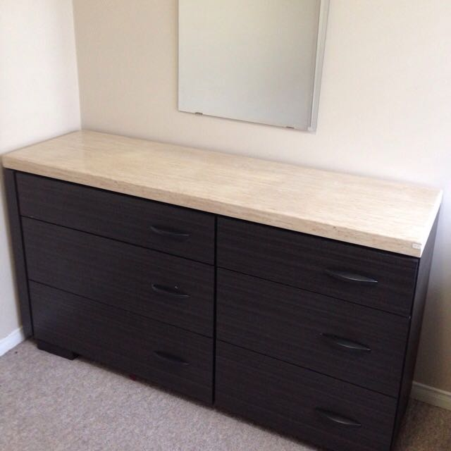 Marble Top Drawer
