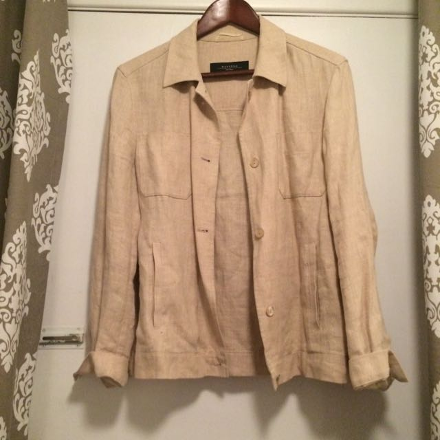 MaxMara Weekend Linen Blazer