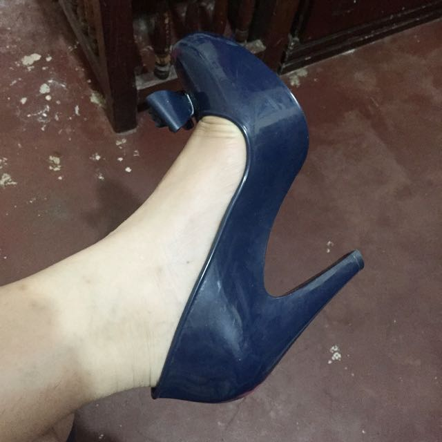 Repriced: Melissa Raspberry Bow High Heels authentic