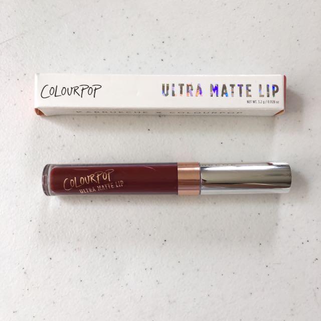 NEW Colourpop Ultra Matte Lip In Rooch