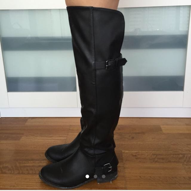 Over The Knee Boots Urban Outfitters (size7)