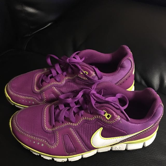 Purple Nike Free Shoes ❤️