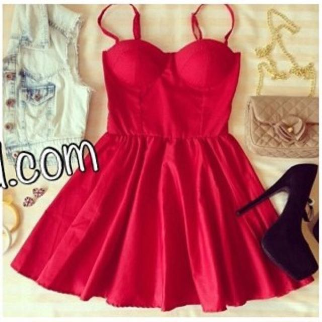 Red Buster Dress