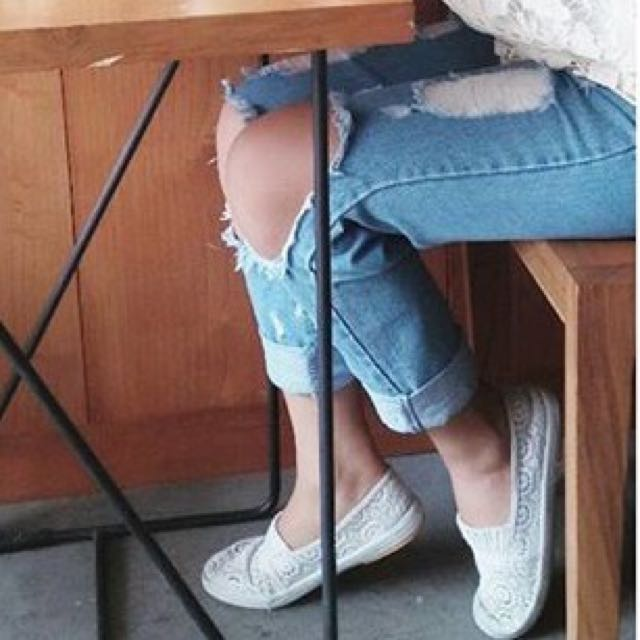 Riped Jeans