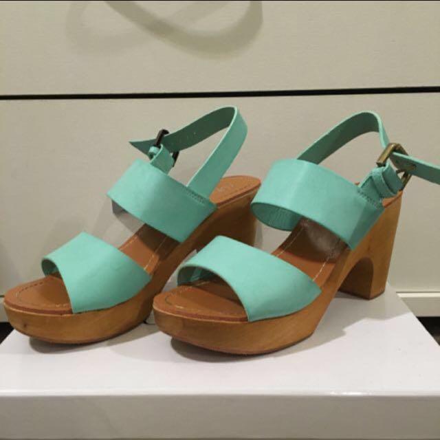 Rubi Sandals Tiffany Blue