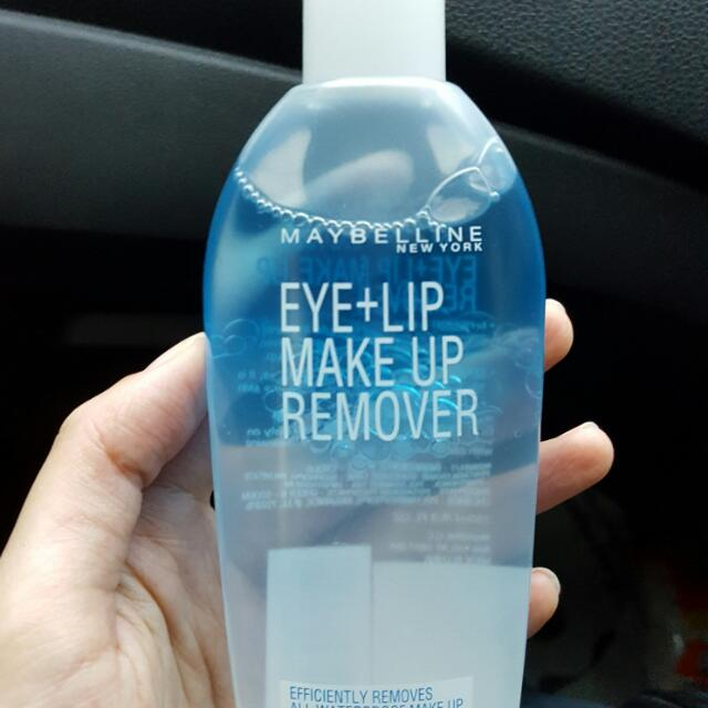 [SHAREINJAR 30ML] Maybelline Eye + Lip Make Up Remover
