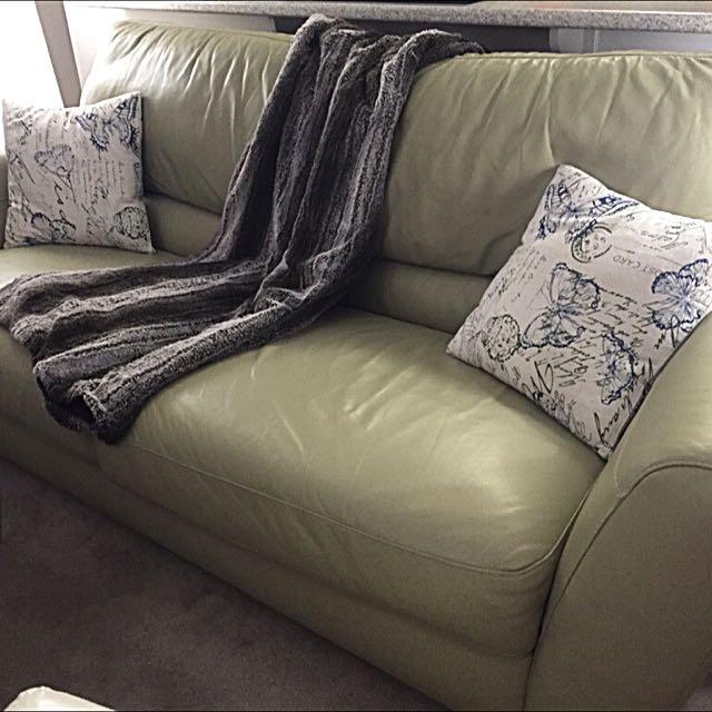 Sofa Leather Natuzzi