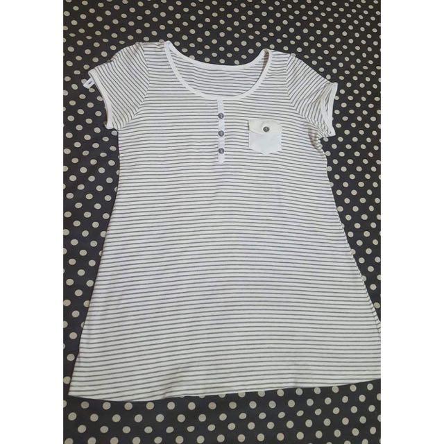 Stripes Maternity Top