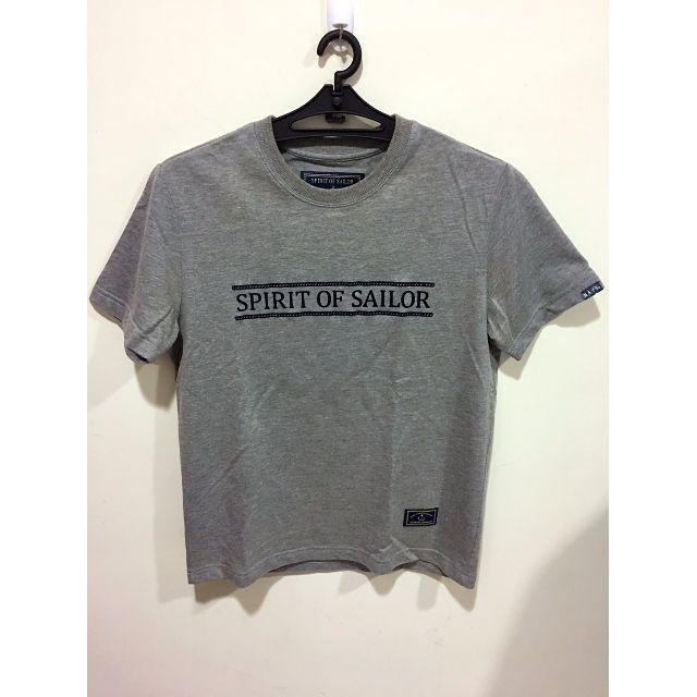 短T恤 NAVY品牌 英文字母 台灣製 高磅數 灰色